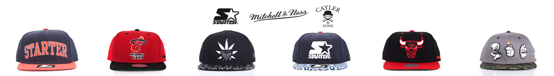 Oferta czapek Starter Mitchell & Ness oraz Cayler & Sons